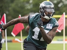 Watch: Is Alshon Jeffery struggling in Philadelphia?