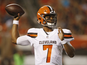 Watch: QB Rookie Rankings: Browns DeShone Kizer