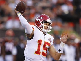 Watch: QB Rookie Rankings: Chiefs Patrick Mahomes II