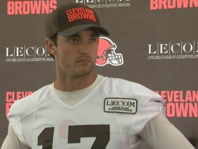 Watch: Osweiler on QB battle: 'As far as I know, it's still wide open'