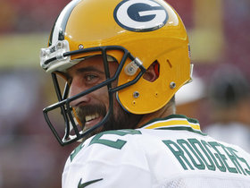 Watch: Aaron Rodgers' preseason rookie highlight