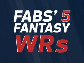 Watch: Fabs' 5 Fantasy WRs