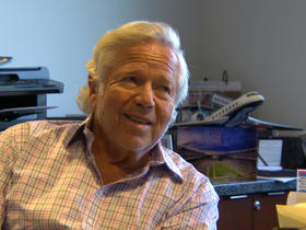 Watch: Robert Kraft Invites Terminal Ill Young Fan to Gillette Stadium