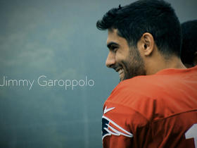 Watch: Jimmy Garoppolo goes one-on-one with Dan Roche