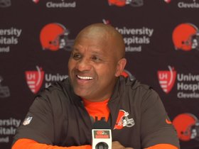 Watch: Hue Jackson: DeShone has gotten better each and every week