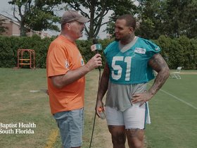 Watch: Mike Pouncey 1 on 1