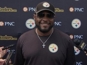 Watch: Tomlin: 'We'll continue with the process'