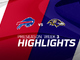 Watch: Bills vs. Ravens highlights | Preseason Week 3
