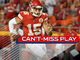 Watch: Can't-Miss Play: Patrick Mahomes makes video-game pass