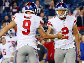 Watch: Aldrick Rosas drills game-winning 48-yard field goal for Giants