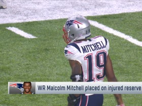 Rapoport: Malcom Mitchell injures knee, officially placed on IR
