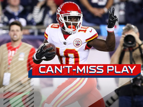 Can't-Miss Play: Tyreek Hill says peace out to Pats on 75-yard TD