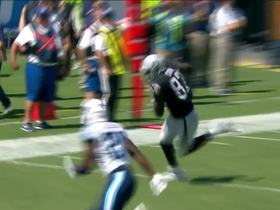 Derek Carr connects with Jared Cook for 22 yards