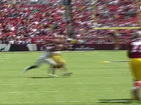 Terrelle Pryor makes 1st reception with Redskins