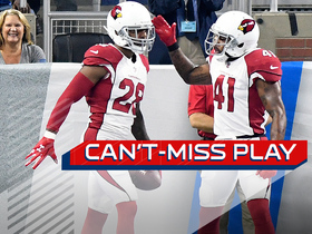 Can't-Miss Play: Justin Bethel takes an interception to the house for a pick six
