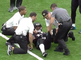 Allen Robinson leaves game vs. Texans with knee injury