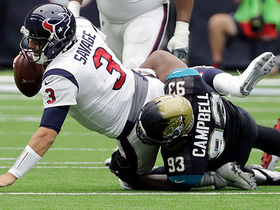 Calais Campbell breaks Jaguars' record for most sacks by one player in a single game