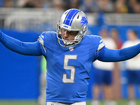 Matt Prater kicks a 58-yard field goal
