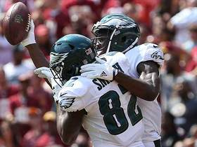 Torrey Smith brings in first catch with Eagles for 30 yards