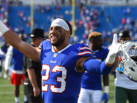 Watch: Micah Hyde picks off McCown to ice the game