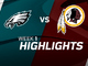 Watch: Eagles vs. Redskins highlights | Week 1