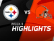 Watch: Steelers vs. Browns highlights | Week 1