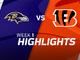 Watch: Ravens vs. Bengals highlights | Week 1
