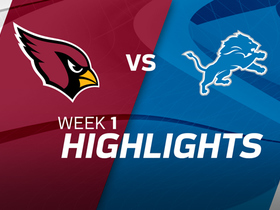 Cardinals vs. Lions highlights | Week 1