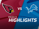 Watch: Cardinals vs. Lions highlights | Week 1