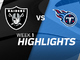 Watch: Raiders vs. Titans highlights | Week 1