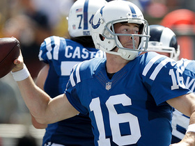 Scott Tolzien throws one deep to T.Y. Hilton for 32 yards