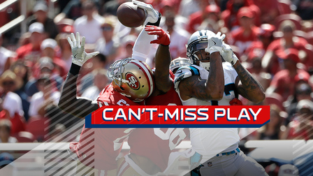 33a25363bbc Can t-Miss Play  San Francisco 49ers safety Jaquiski Tartt hauls in  one-handed interception - NFL Videos