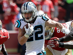 Cam and McCaffrey team up for another third-down conversion
