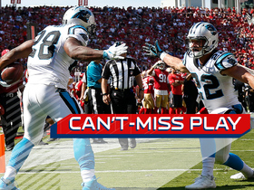 Watch: Can't-Miss Play: Jonathan Stewart gets BIG AIR on 9-yard TD