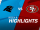 Watch: Panthers vs. 49ers highlights | Week 1