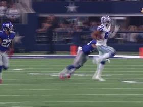 Terrance Williams outruns defenders for a gain of 23 yards