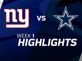 Giants vs. Cowboys highlights | Week 1
