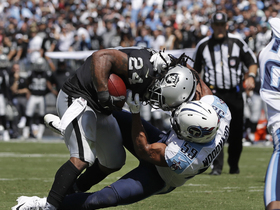 Raiders activate truck stick and stiff-arms in Week 1 victory