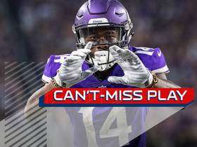 Can't-Miss Play: Stefon Diggs absorbs huge hit, still makes catch