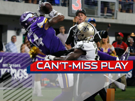 Watch: Can't-Miss Play: Stefon Diggs MOSSES De'Vante Harris for TD