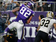 Watch: Kyle Rudolph leaps up for 15-yard TD
