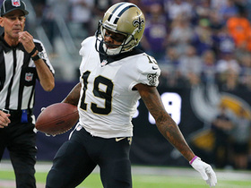 Drew Brees shows picture-perfect accuracy on 27-yard pass