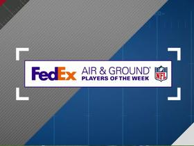 FedEx Air and Ground NFL Player of the Week Nominees