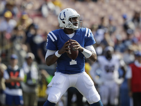 Jacoby Brissett expected to start vs. Cardinals on Sunday
