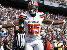 Watch: David Njoku scores his first NFL touchdown with an athletic grab