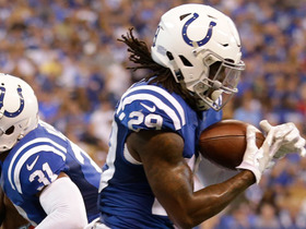 Watch: Malik Hooker has his first career NFL interception