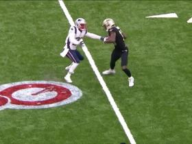 Drew Brees finds Michael Thomas for 25 yards