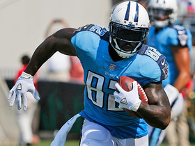 Watch: Delanie Walker walks into the end zone for a 1-yard TD