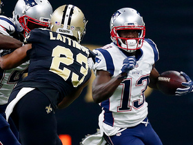Phillip Dorsett hauls in huge 38-yard pass from Tom Brady