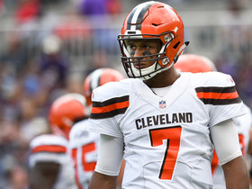 Watch: Kizer throws it right into the defenders hands in the end zone